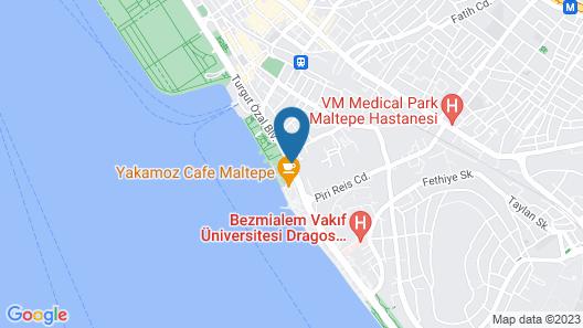 Cevahir Hotel Istanbul Asia Map