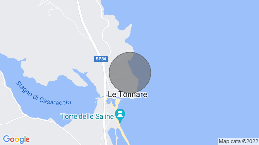 Villino Maja Stintino Map