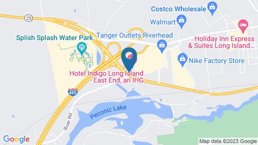 Hotel Indigo East End, an IHG Hotel Map