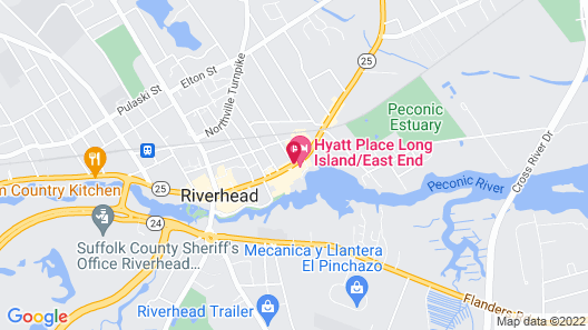 Hyatt Place Long Island East End Map