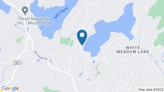 The Lake Side Studio Map