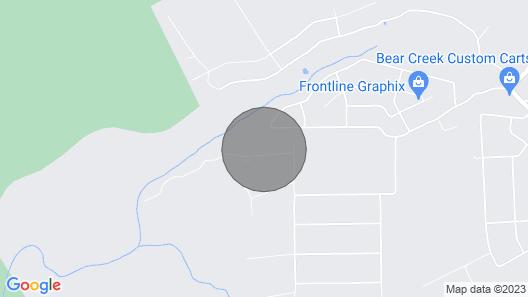 Tentrr Signature Site - Retreat on Bear Creek Map