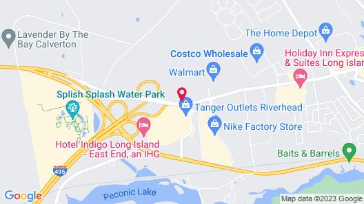 Hilton Garden Inn Riverhead Map