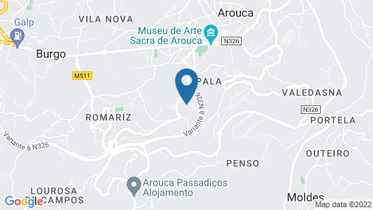 Quinta Do Pomarinho Map