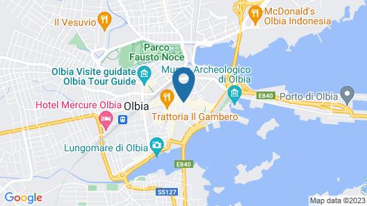 Corso Umberto Rooms Map