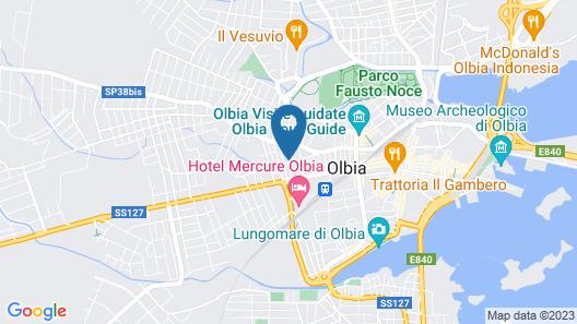 Domus Olbia Inn Map