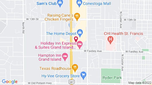 Candlewood Suites Grand Island, an IHG Hotel Map
