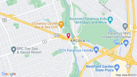 Hyatt Place Fair Lawn Paramus Map