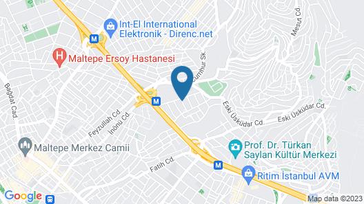 Sanli Suite Hotel Map