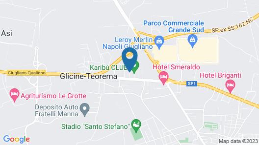Hotel Barbarella Map