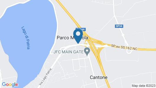 Hotel Resort Il Panfilo Map