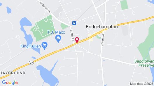 Bridgehampton Inn Map