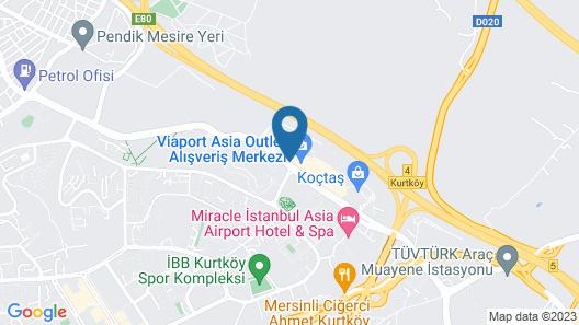 Crowne Plaza Hotel Istanbul - Asia, an IHG Hotel Map