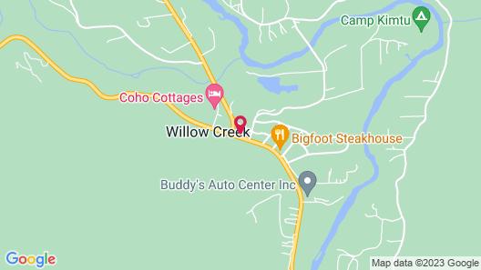 Bigfoot Motel Map