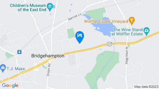 Villa Bridgehampton Village Map