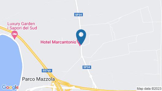 Hotel Marcantonio Map