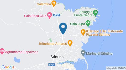 Park Hotel Asinara Map