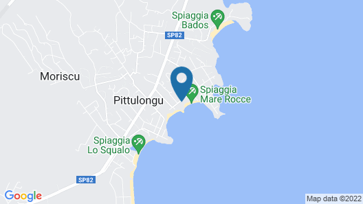 The Pelican Beach Resort & SPA - Adults Only Map