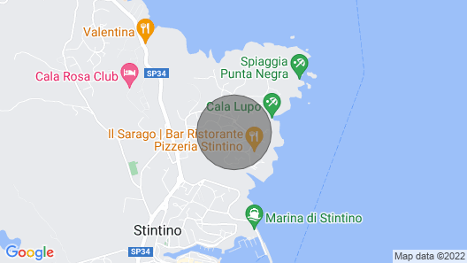 2 Bedroom Accommodation in Stintino Map