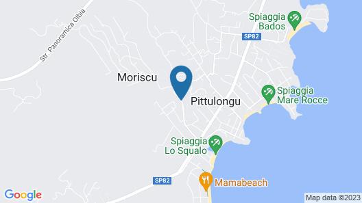 Al Mare da Francesca Map
