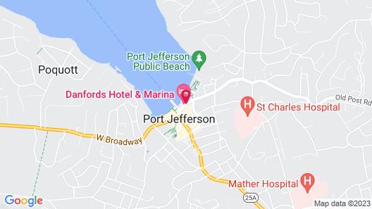 Danfords Hotel and Marina Map