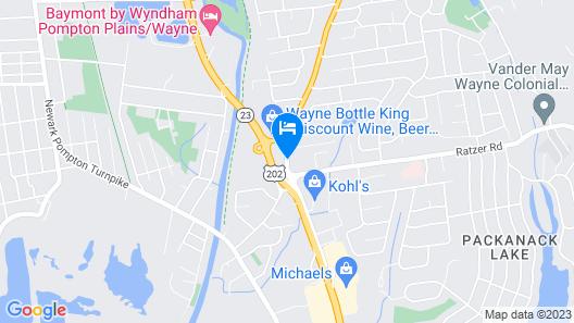 Days Inn by Wyndham Wayne Map