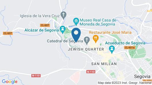 Villa Don Juan II Map