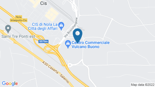 Holiday Inn Nola - Naples Vulcano Buono Map