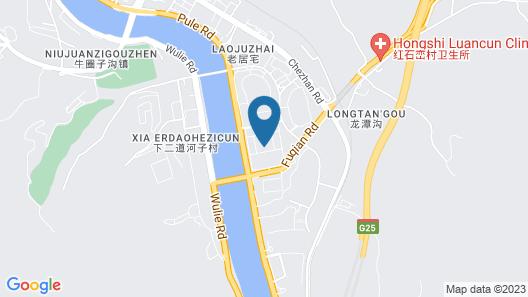 Yu Dao Kou Arcadia Prairie Resort Map