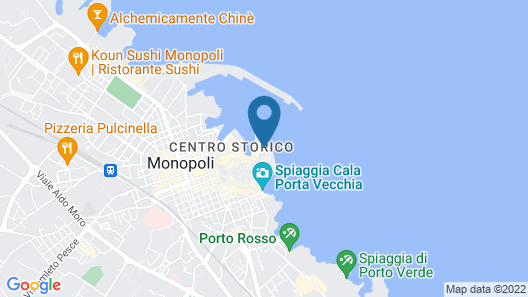 Santa Maria 24 - Luxury Apartments Map