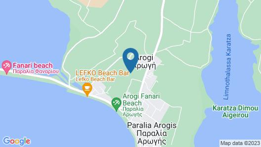 Villa Elaia Mare Map