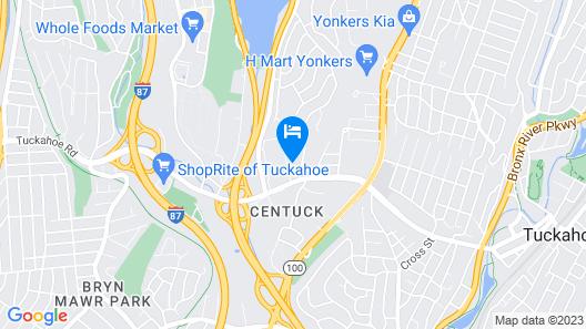 Hampton Inn & Suites Yonkers - Westchester Map