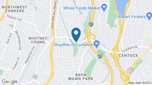 Ramada by Wyndham Yonkers Map