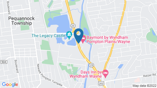 Baymont by Wyndham Pompton Plains/Wayne Map