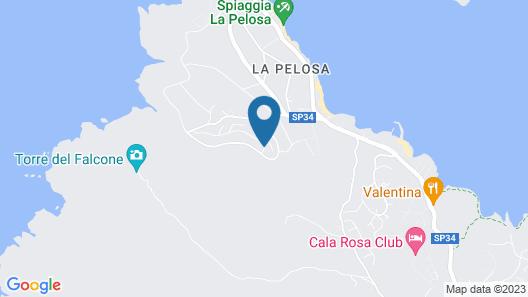 Appartamenti Capo Falcone Map