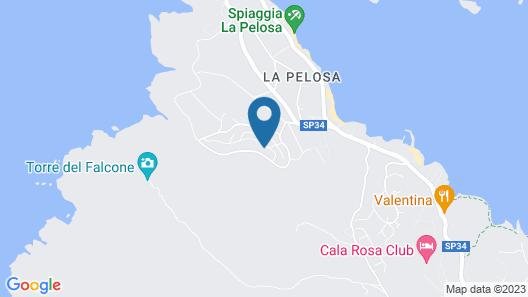 Residence Capo Falcone Map