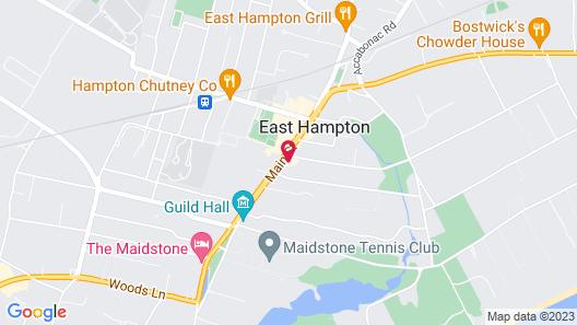 The Huntting Inn Map