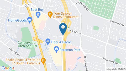 Hampton Inn Paramus, NJ Map