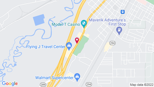 Motel 6 Winnemucca, NV Map