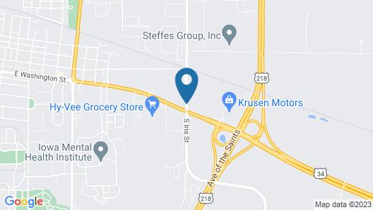 Heidelburg Motel Map