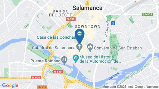 Rua Suites Boutique Map