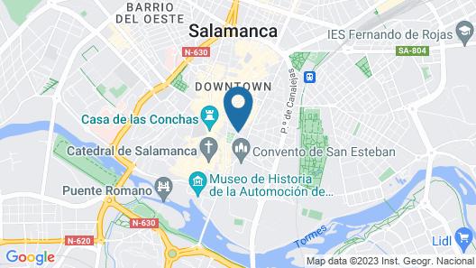 Luxor Torre del Clavero Apartments Map