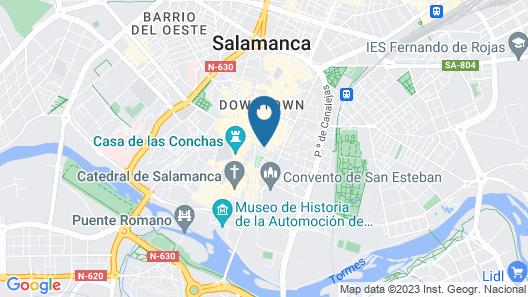 Smart Tech Plaza Torre Clavero Map