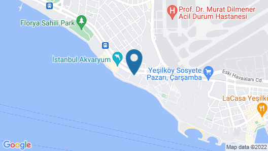 Crowne Plaza Istanbul Florya Map