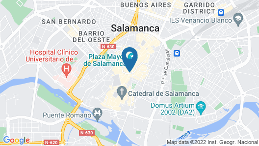 Apartamentos Boutique Salamanca Map