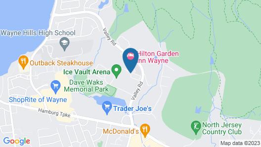 Residence Inn by Marriott Wayne Map