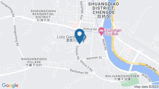 Holiday Inn Chengde Park View, an IHG Hotel Map