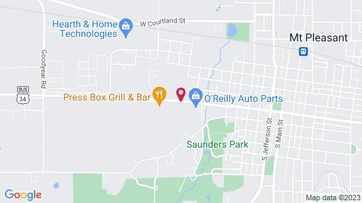 Iris Motel Map
