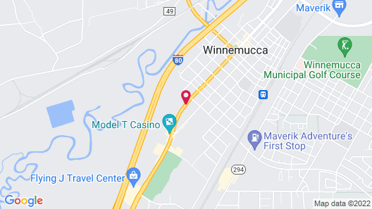 Winnemucca Inn & Casino Map