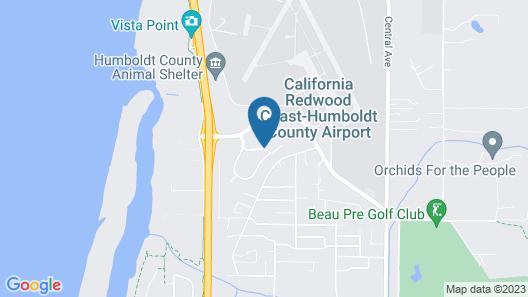 Holiday Inn Express Arcata / Eureka - Airport Area, an IHG Hotel Map